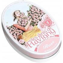 Les Anis de Flavigny - Oval tin Rose 50g