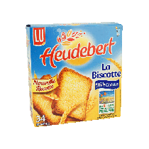 LU Biscotte Heudebert - Pain Grille - 34 Slices - (10.5oz/300g)