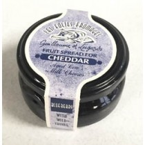 Blueberry Fruit Spread for Cheddar - Folies fromages (4.23oz-120gr)