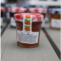 2 Bonne Maman Apricot Preserves - Mini Jar Jam (1oz/28g X2)