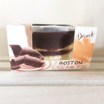 Individual Boston Cream Pie Dessert Cup made in Italy (2.8oz/56g)