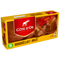 Cote d'Or bouchée chocolat au lait (8 pieces per box)