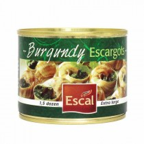 Burgundy Snails extra large 1.5 dozen - Escargots de bourgogne (4.4oz/125g)
