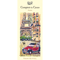 "Comptoir du Cacao - ""Tour Eiffel 2CV"" chocolate bar - (2.82oz/80g)"
