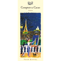 "Comptoir du Cacao - ""Paris by night"" chocolate bar - (2.82oz/80g)"