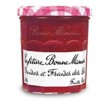 Strawberry and wild strawberry Jam, Bonne Maman From France