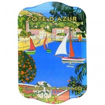 Cote D'Azur - Mini Metal Tray