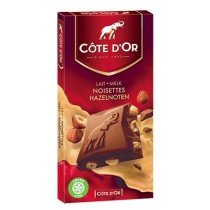 Cote d'Or Belgian Milk Chocolate With Whole Hazelnuts (7oz/200g)