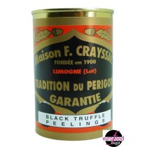 Black Truffle peelings from F. Crayssac (14.4oz/400g)