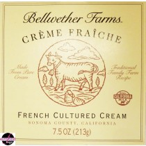 Creme Fraiche Bellwether farms (7.5oz/213g)