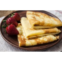 6 Organic French Crêpes 8.4oz (240g)