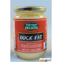 Rendered Duck Fat - Graisse de Canard - Fafrique Delice (11.28oz/320g)