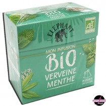 Bio Herbal Infusion Verbena Mint by Elephant