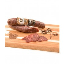 Elk & Berkshire Pork Salami by Angel's Salumi & Truffles (6oz/170g)