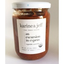 Organic Eggplant Vegan by Karine & Jeff (500gr/17.6oz)