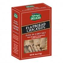 FLATBREAD CRACKERS / Fabrique Delices (4oz/112g)