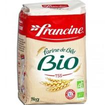 Francine Farine de Blé Bio -Organic French Wheat Flour (T55)