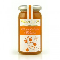 Favols Fruitessence Jam - French Apricot 100% Fruit Spread (8.8oz/250g)