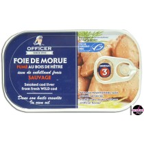 Smoked Cod Liver - Officer (120g/4.23oz)