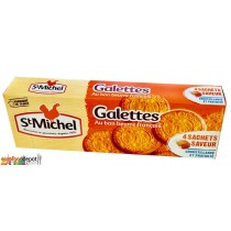 St Michel Butter cookies from Brittany (galettes au beurre)
