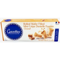 Gavottes Mini wafers filled with caramel, box · 90g (3.2 oz)