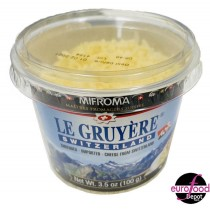 Mifroma Shredded Gruyere Cups (100g -3.5oz)