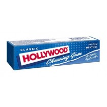 Hollywood Chewing Gum Tablets Menthol Flavour (28g)