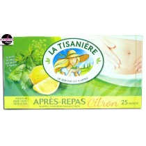La Tisaniere Après-repas / Mint, green anis, verbena and lemon Herbal tea