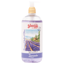 Liquid Soap lavande with Olive Oil by Savonnerie de Nyons