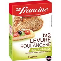 Instant Yeast for Bread - Levure de Boulanger Francine 6 bags