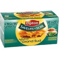 Lipton Saveurs du soir Grand Sud Reglisse Menthe - Liquorice Mint