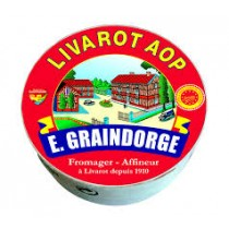 Livarot AOP - Soft ripened cheese (8.8oz 250g)