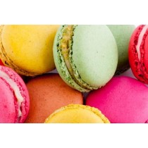 French Macarons Assortment -12 Macarons - All Natural (5.1oz/144g)