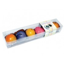 Assorted fruit-shaped marzipan in ruler Maffren (80g-2.82oz)