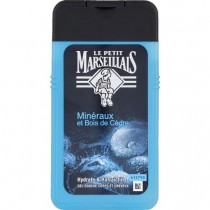 French Body and hair shower gel - Le Petit Marseillais - Minerals & cedar wood (8.8oz/250ml)