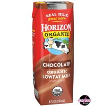 Organic Low Fat Chocolate Milk Box