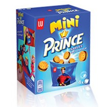 Mini Prince Shortbread stuffed with chocolate by LU 5.6oz