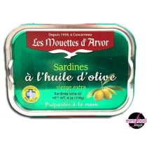 Mouettes d'Arvor Whole sardines with olive oil