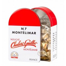 Chabert & Guillot · White Nougat pieces Tin N7 250g