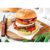 Organic & Vegan Green Lentils Burger Patty White Toque