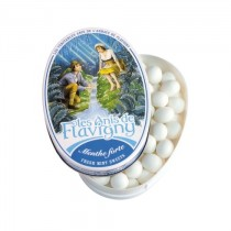 Les Anis de Flavigny - Oval tin Mint 50g