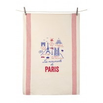 "Dish Towel ""Les Monuments de Paris"" (21.6"" x 31.4"")"