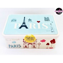 Love Bleu Paris Tin Assortment of Pure butter Galettes & Palets