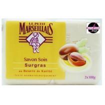 Le Petit Marseillais Shea Butter solid Soap Bar Pack (2X100g)