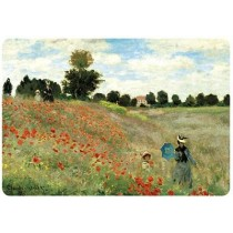 Placemat Monet Poppies