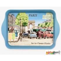 Paris Sur Les Champs Elysees - Mini Metal Tray