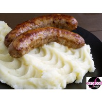 Bangers & Mash Fabrique Delices Ready Meal - Puree saucisses 2 People per serving