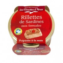 Mouettes d'Arvor Sardines Rillettes with French Tomatoes (4.4oz/125g)
