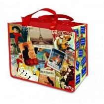 French Patchwork Paris Shopper