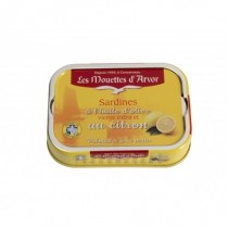 Mouettes d'Arvor Sardines olive oil and lemon (115g/4oz)